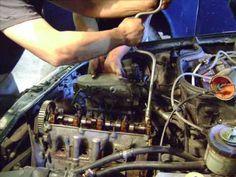 Motor VW Pointer 1.8 Lts. cambio de junta de cabeza y banda de distribuc...