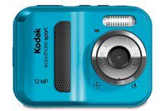 Kodak EasyShare Sport Camera: Reliable waterproof 12-megapixel camera for $80. #Camera #Kodak