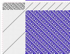 draft image: Page 126, Figure 03, Atlas D'Armures Textiles, B. Fressinet, 14S, 42T