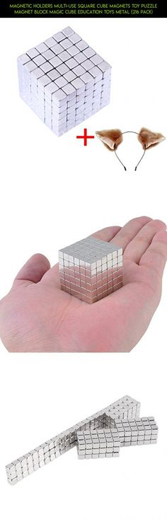 Magnetic Holders Multi-Use Square Cube Magnets Toy Puzzle Magnet Block Magic Cube Education Toys Metal (216 Pack) #camera #gadgets #magnetic #shopping #plans #parts #kit #tech #neocube #drone #balls #products #racing #technology #fpv