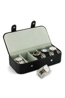 Boîte à montres<BR>5 compartiments