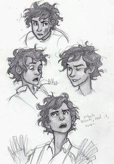 Leo sketches! I take no credit