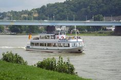 Rhine River Cruise  The boat passes many quaint villages and several castles. The most spectacular is Marksburg, the largest medieval castle in Germany. It is located over the village of Braubach, a real fairy-tale style of castle built of white stone.