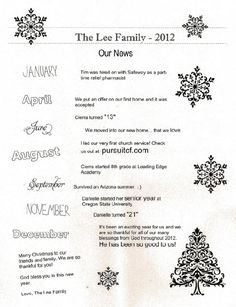 Christmas Letter! Christmas Letters To Friends, Merry Little Christmas, Christmas Wishes, Simple Christmas, Family Christmas, Christmas Crafts, White Christmas, Christmas Newsletter, Santa Claus Is Coming To Town