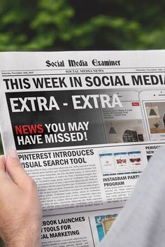 Pinterest Launches Visual Search: This Week in Social Media | 8-14-15 | Via @smexaminer