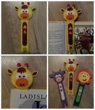 Handmade dětské záložky do knihy - Handmade bookmarks for children #handmade #felt #bookmarks #modrykonik