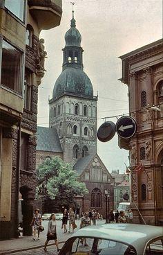 Riga (Latvia) old times,same Travel Capsule, Time Capsule, Riga Latvia, Homeland, Tours, Country, Architecture, World, City