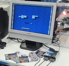 Picture of DIY retro game console