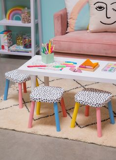 Mini DIY Chairs for Kids / Oh Joy!