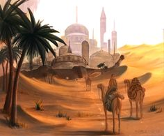 Desert Envoy by Sainez