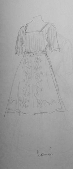 Robe, Jeanne Lanvin
