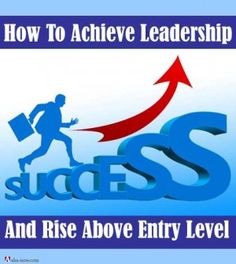 Do you struggle when you are in any entry level position? Do you find it hard to grow and move to the next level? If you develop the leadership qualities and skills, you can function and rise above the entry level. This post features a FREE course to help you achieve this goal.  More at the blog. :)