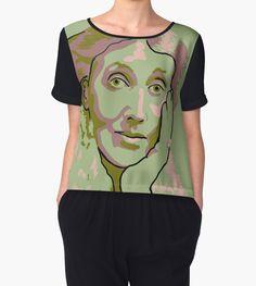Virginia Woolf chiffon top by savantdesigns