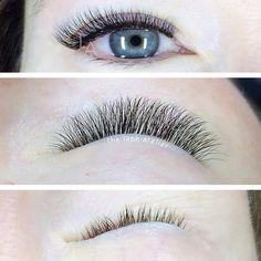 Delicate & natural volume lash extensions