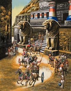 Realm Of The Elohim based on Zechariah Sitchin's Lost Book of Enki on the Sumerian Anunnaki Ancient Aliens Of Mesopotamia Ancient Aliens, Ancient Art, Ancient Egypt, Ancient History, Ancient Mesopotamia, Ancient Civilizations, Egyptians, Bronze Age Collapse, Painting Art