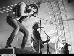 bosshoss boss hoss band live concert event on stage black and white blackandwhite nmdkdesign photography fotografie