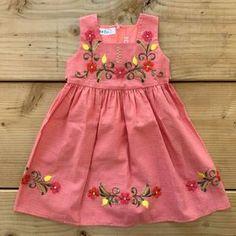 Cute Little Girl Dresses, Toddler Girl Dresses, Toddler Outfits, Toddler Girls, Kids Outfits, Mexican Style Dresses, Mexican Outfit, Traditional Mexican Dress, Traditional Dresses