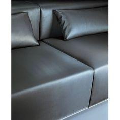 Luxury detail and fabric, sofa by Spanish architect Francesc Rife