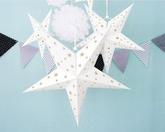 4 Size Hanging Decor set White Paper Star Lantern Baby Shower Wedding Birthday Party Supplies Decorations Please check delivery date! ------------- Specifications Item Description Paper Lantern With lantern Matching Size Party Star shape Paper Decor : Paper Star Lanterns, Paper Stars, Star Shape, Paper Decorations, White Paper, Party Supplies, Birthday Parties, Baby Shower, Shapes