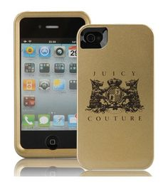 Give your iPhone 4 a little Couture! Juicy Couture created this adorable iPhone 4 case in the popular new I Love Dotty pattern. Lightweight polycarbonate Juicy Couture Iphone 4 case to protect the all-important phone. Full access to all controls. A great gift idea for any Juicy Couture fan.