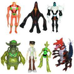 Amazon Lots Of 7 Pcs Ben 10 Ultimate Alien Force Omniverse Action Figure