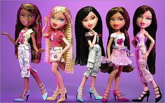 I did not like barbie I did not like Betty spaghetti I did not like any bratz were my favorite I was so obsessd and I had every single one