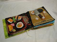 adorable DIY quiet book, such neat ideas!