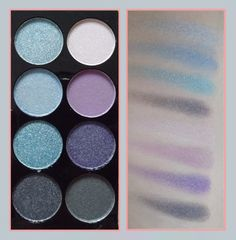 Review and swatches of the Accessorize 'Paradise' Eyeshadow Palette