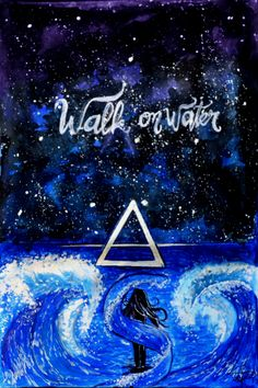 """Do you believe that you can walk on water? Do you believe that you can win this fight tonight? (Do you believe?)"" 30 seconds to mars Instagram: @michellygl"