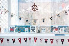 Nautical Birthday Party Ideas   Photo 1 of 71