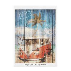Affiche filmée - La playa - Affiches décoratives - Affiches et déco murale - Salon et salle à manger - Décoration d'intérieur - Alinéa
