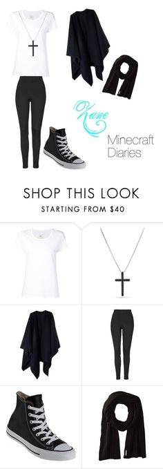 """""""Zane (Minecraft Diaries)"""" by benjiedaisy ❤ liked on Polyvore featuring Max 'n Chester, David Yurman, Acne Studios, Topshop, Converse and Soia & Kyo"""