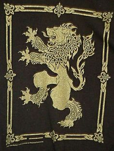 celtic lion rampant