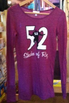 Go Ravens! 52 Shades of Ray Long Sleeve T-shirt