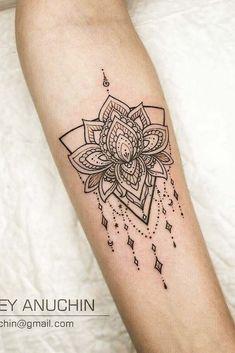 Mandala Lotus Tattoo Design A colorful simple and Lotus Tattoo Design, Lotus Tattoo Foot, Design Lotus, Lotus Flower Tattoo Meaning, Mandala Hand Tattoos, Lotus Mandala Tattoo, Lotus Flower Mandala, Flower Tattoo Meanings, Flower Wrist Tattoos