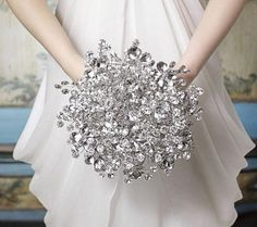 wedding bouquets with brooches - Google Search