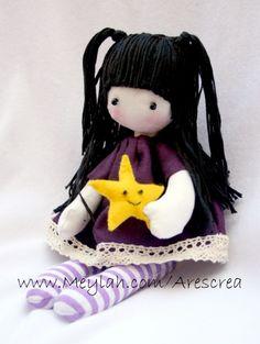 Stella Handmade Doll with Kawaii Star