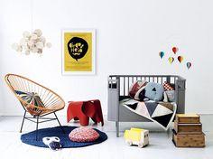 kids room by Paul+Paula, via Flickr