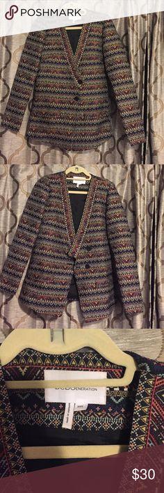 Bcbgeneration blazer, like new! Adorable Bcbgeneration blazer, like new! BCBGeneration Jackets & Coats Blazers