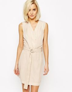 Vero Moda D-Ring Belted Wrap Dress