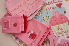 Valentine towels