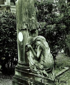 San Michele, Venice-weeping angel by Naberius9, via Flickr