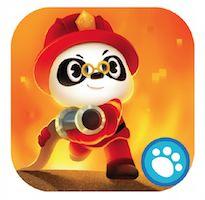 Dr. Panda Brandweerwagen - Kun jij brandjes blussen en de vriendjes redden?