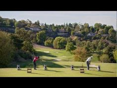 Nike Tiger Woods and Rory McIlroy's video.
