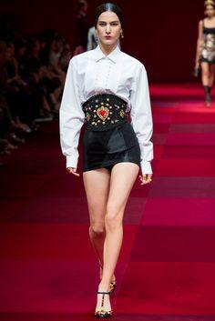 Dolce & Gabbana Spring 2015 Ready-to-Wear Fashion Show - Mijo Mihaljcic