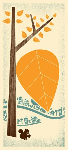 Fun Fall illustration