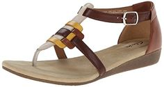 awesome Clarks Women's Qwin Adonia Gladiator Sandal