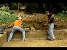 How to Build a Timber Retaining Wall - This Old House - YouTube