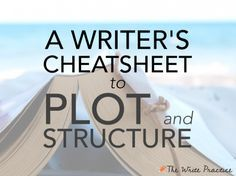 Plot and structure are like gravity. You can work with them or you can fight against them, but either way they're as real as a the keyboard at your fingertips. Getting a solid grasp on the foundations of plot and structure, and learning to work in harmony with these principles, will take your stories to the next level.