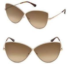 63106aa1c7b2 Tom Ford Eyewear Elise Cat Eye Sunglasses